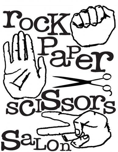 Rock Paper Scissors Salon