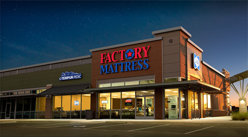Factory Mattress; Anderson Lane