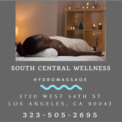 FREE HYDROMASSAGE South Central Wellness Co.