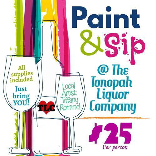 Tonopah Liquor Company Paint & Sip